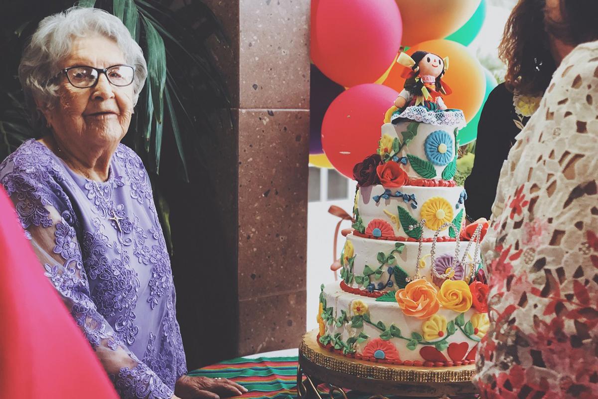 The Surprise Celebrations for Grandma's Birthday