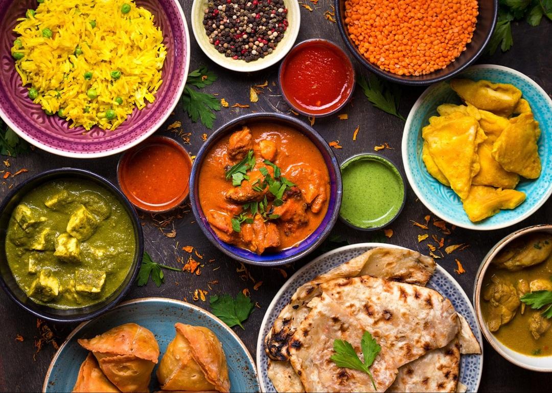 Indian cuisine favorite food