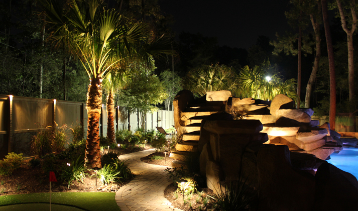 Lighting the Landscaping