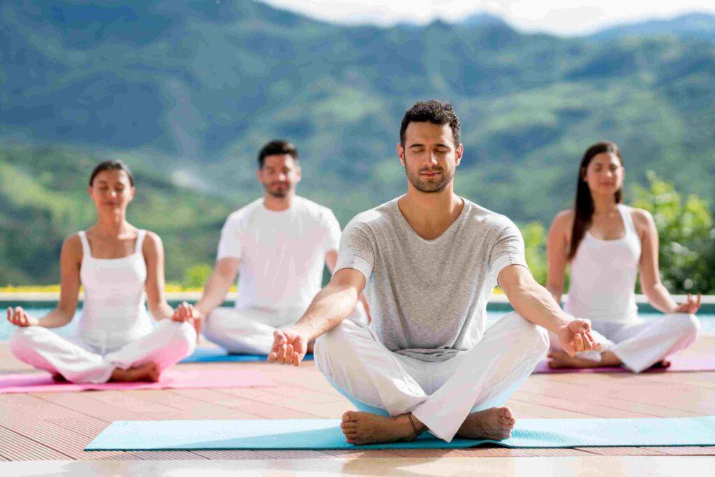 Meditation prepares