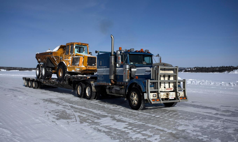 the Road Trucker