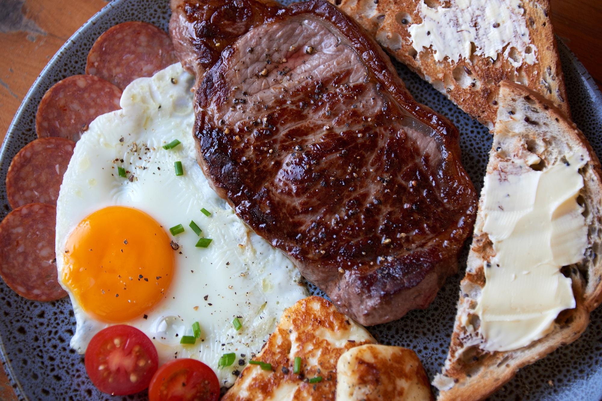 Order the Steak