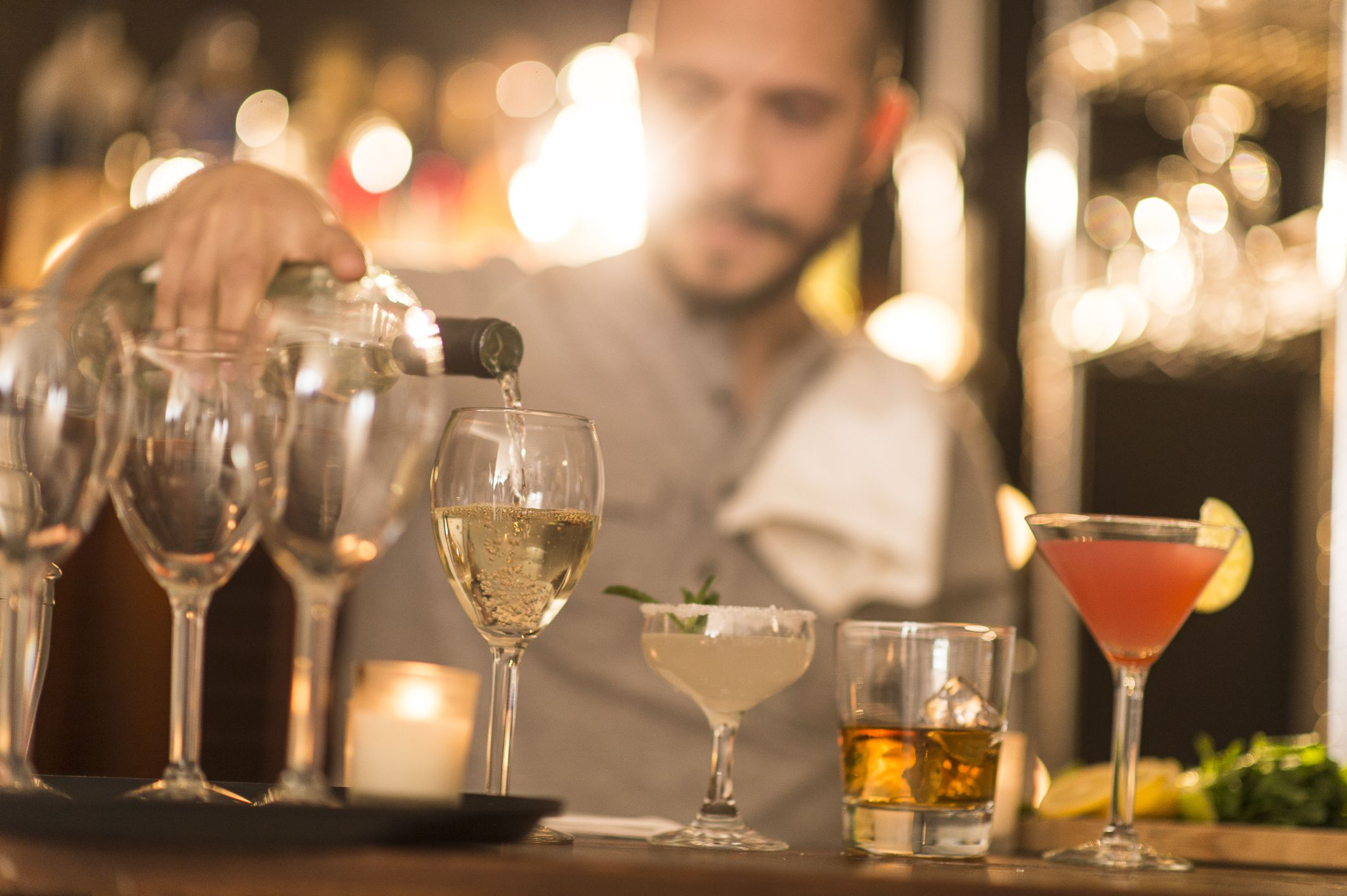 Skills Associated with All Bartender