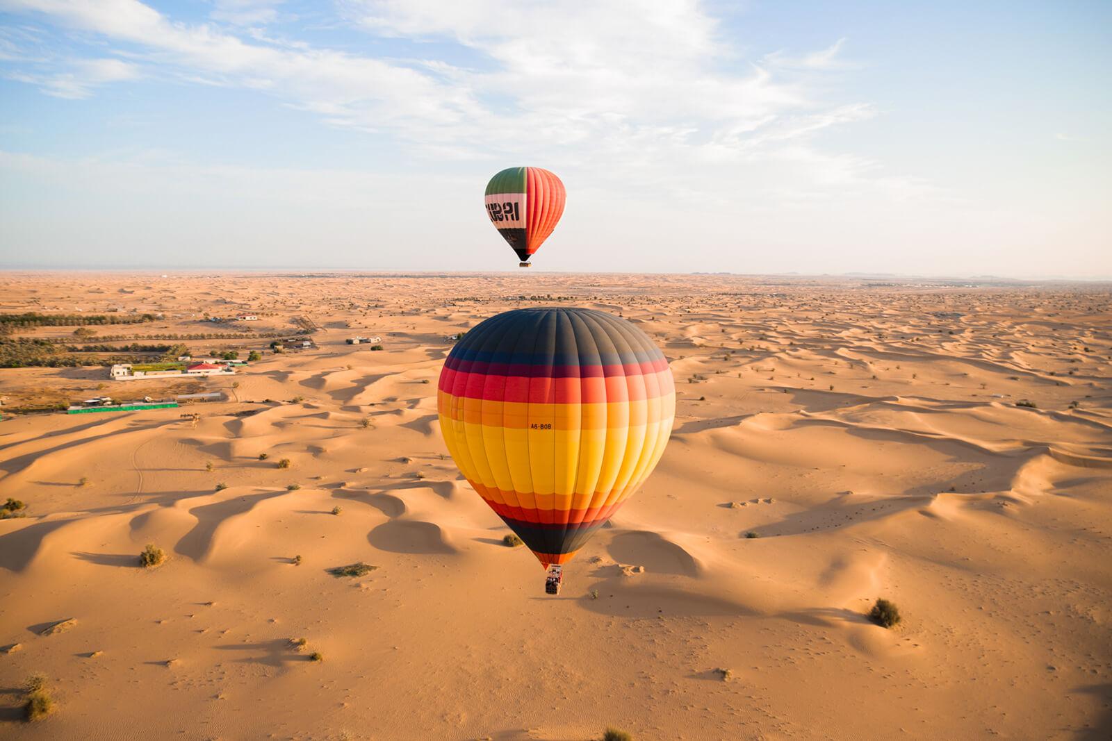 Balloon Rides In Dubai ? Look For A Mesmerizing Experience While Choosing A Balloon Ride Dub