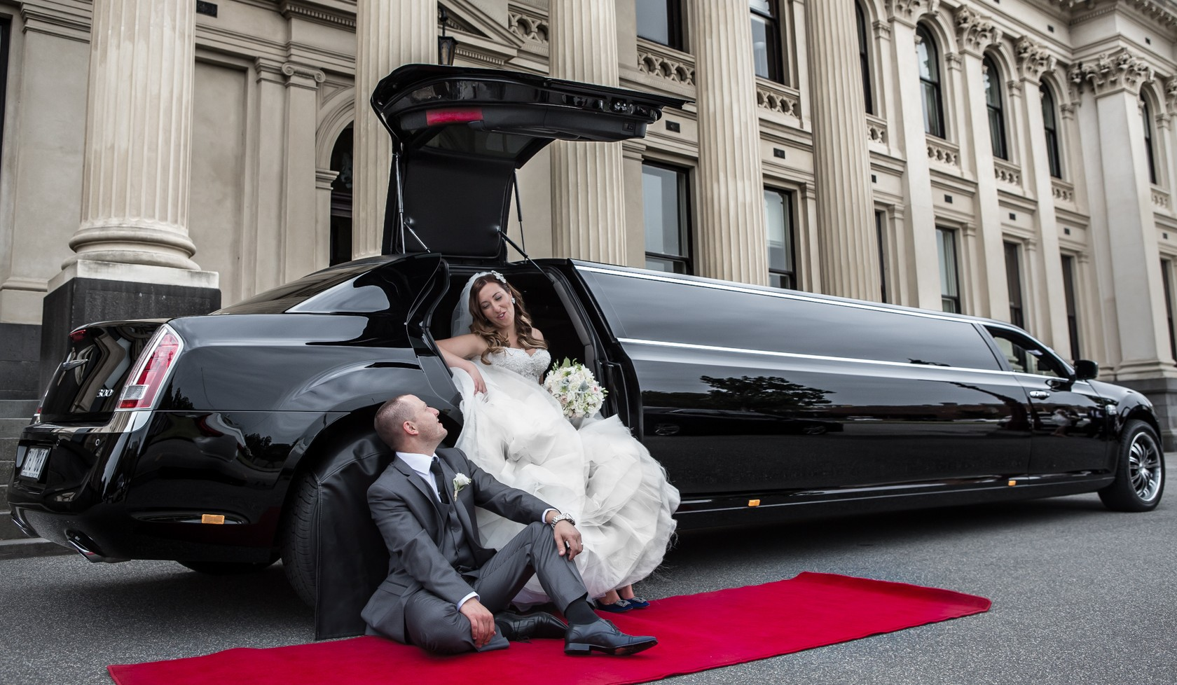 Limo Services for Wedding