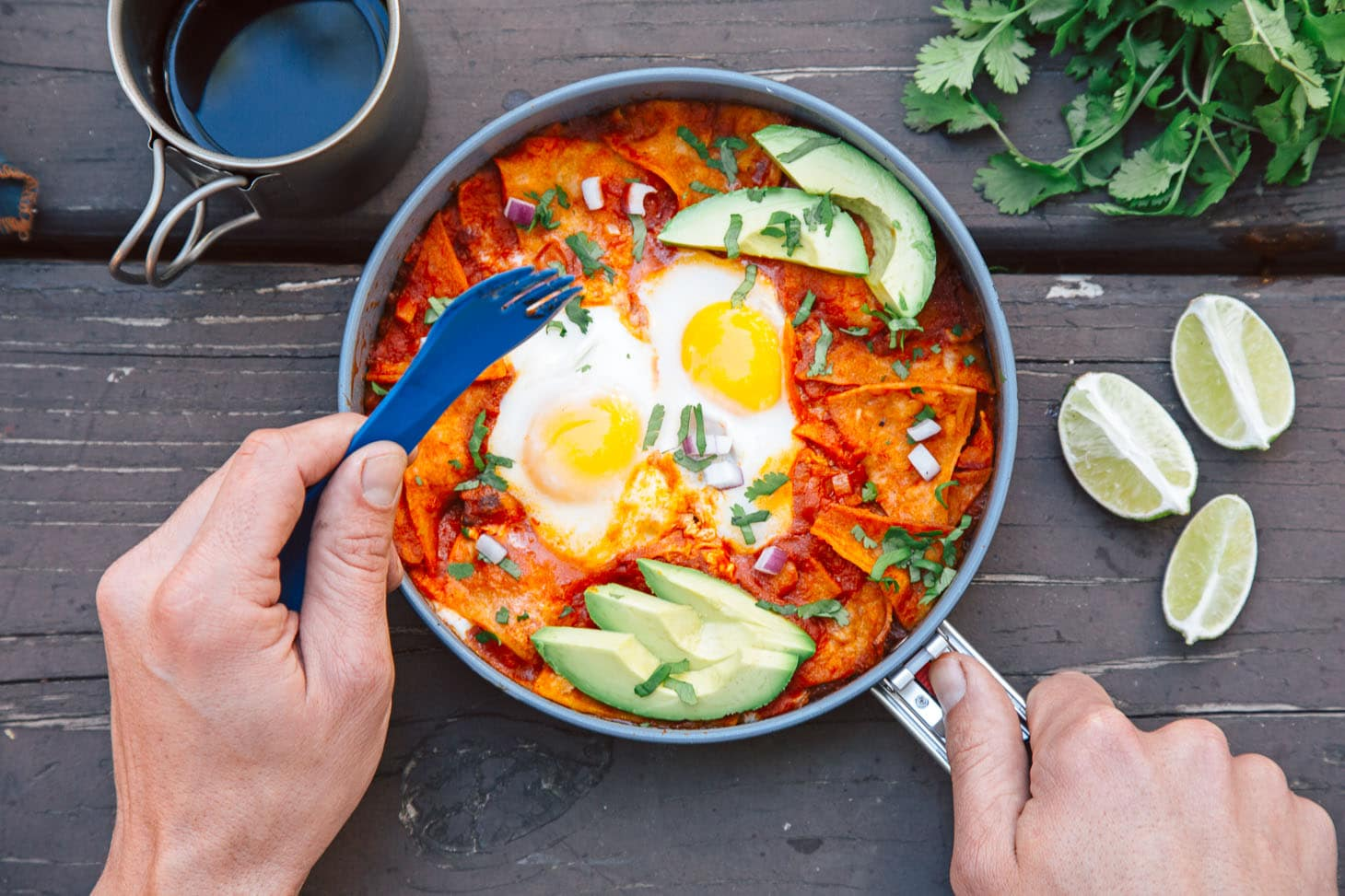 camping-breakfast-chilaquiles