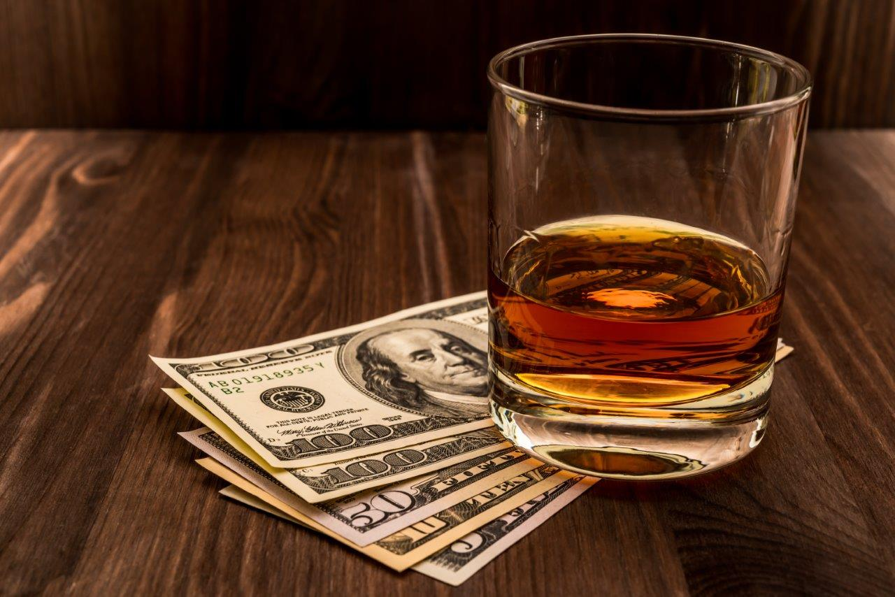 Investing in whiskey maturation